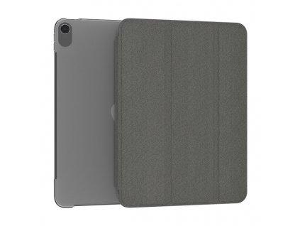 Kingxbar Bussines pouzdro pro Apple iPad Air 2020 dark / černé