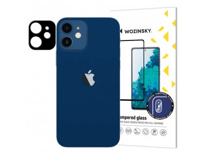 "Wozinsky Super Durable ochranné tvrzené sklo na kameru iPhone 12 Mini (5,4"")"