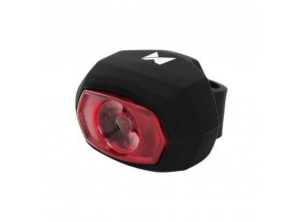 Wozinsky zadní světlo na kolo / USB nabíjení - černá