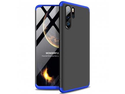 Pouzdro GKK 360 pro Huawei P30 PRO černá / modrá
