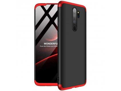 Pouzdro GKK 360 pro Xiaomi RedMi NOTE 8 PRO černá / červená