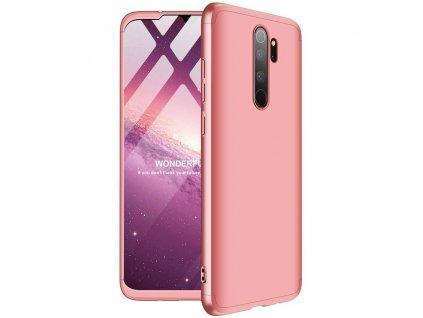 Pouzdro GKK 360 pro Xiaomi RedMi NOTE 8 PRO růžové