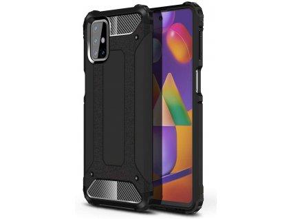Hybrid Armor Case odolné pouzdro pro Samsung Galaxy M31s černé