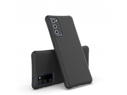 Pouzdro Soft Color Case pro Samsung Galaxy S20 FE / S20 Lite / S20 FE 5G černé