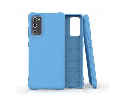Pouzdro Soft Color Case pro Samsung Galaxy S20 FE / S20 Lite / S20 FE 5G modré