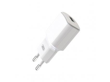 XO L73 nabíječka s výstupem USB / 2,4A bílá