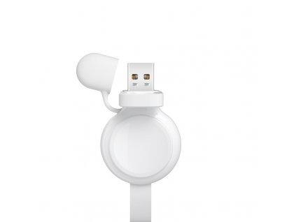 XO CX003 nabíječka pro Apple Watch 2/3/4/5/6/SE bílá