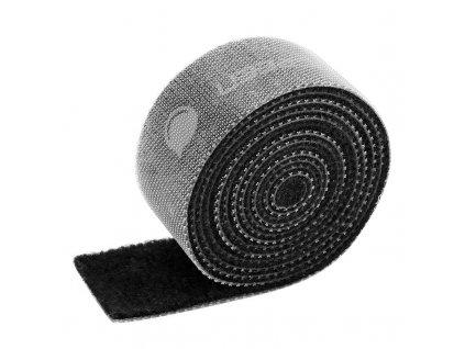 UGreen páska pro organizaci kabelů 15mm / 2m - černá