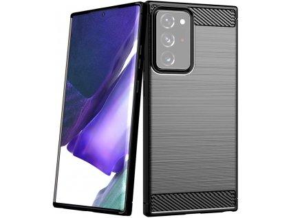 Pouzdro Carbon Case pro Samsung N985 Galaxy Note 20 Ultra černé