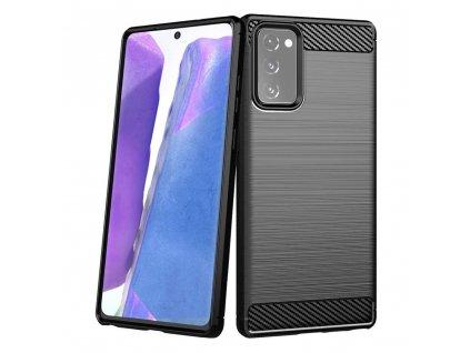 Pouzdro Carbon Case pro Samsung N980 Galaxy Note 20 černé