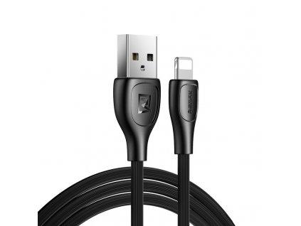 REMAX RC-160i USB kabel pro Apple iPhone / Lightning / 1m / 2,1A / černý