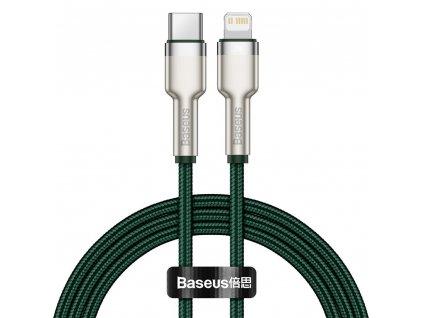 Baseus CATLJK-B06 kabel USB-C PD / Apple Lightning 20W / 2m / zelený