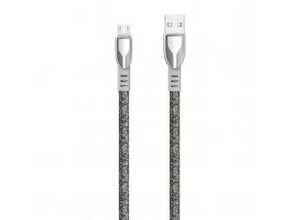 Dudao L3PROM USB kabel - Micro USB / 1m / 5A šedý