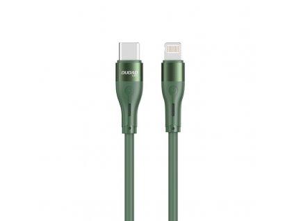 Dudao L6H kabel USB-C PD - iPhone Lightning 65W / 1m / zelený