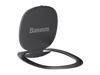Baseus Ultrathin iRing 3v1 držák na prst / opěrka telefonu / protikus k držáku - šedý