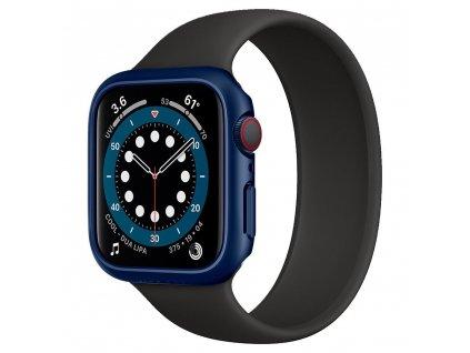 Spigen Thin Fit pouzdro / kryt k Apple Watch 4/5/6/SE - 44mm modrý