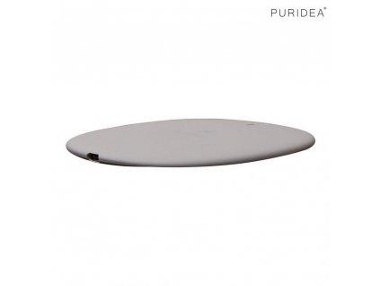 Puridea M01 bezdrátová nabíječka Qi / 10W + kabel USB - USB-C šedá