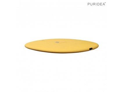 Puridea M01 bezdrátová nabíječka Qi / 10W + kabel USB - USB-C žlutá
