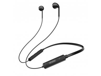 WK Design V29 sportovní bluetooth sluchátka černé