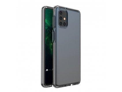 Spring Case TPU pouzdro pro Samsung Galaxy M51 clear / black