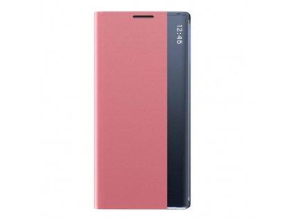 Pouzdro Sleep Case pro Samsung Galaxy A02s růžové