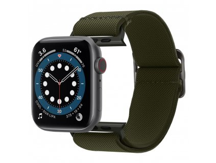 Spigen Fit Life řemínek k Apple Watch 2/3/4/5/6/SE 42mm/44mm khaki
