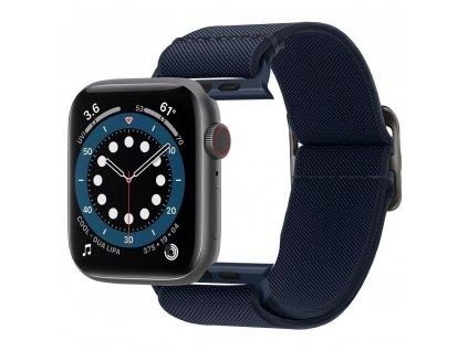 Spigen Fit Life řemínek k Apple Watch 2/3/4/5/6/SE 42mm/44mm navy blue