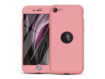 Pouzdro GKK 360 pro Apple iPhone SE 2020 růžové