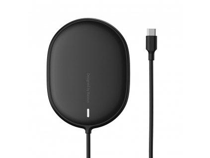 Baseus WXQJ-01 bezdrátová nabíječka 15W / MagSafe iPhone 12 series černá