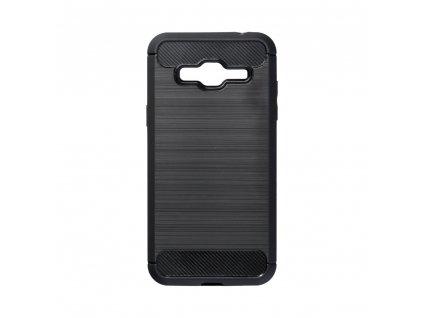 Pouzdro Carbon Case pro Samsung J320 Galaxy J3 2016 černé