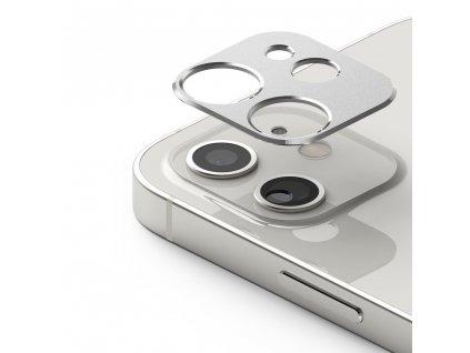 Ringke super durable ochrana na zadní kameru / sklíčko pro Apple iPhone 12 Mini silver