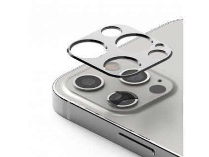 """Ringke super durable ochrana na zadní kam. / sklíčko pro Apple iPhone 12 PRO (6,1"""") silver"""
