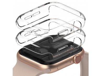 Ringke Slim Watch Case (2ks) pouzdro / kryt k Apple Watch 4/5/6/SE 44mm clear