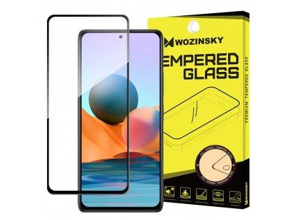 Wozinsky Full Glue tvrzené sklo Xiaomi RedMi NOTE 10 PRO černé 9111201929739