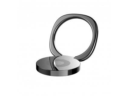 Baseus Privity iRing držák na prst / opěrka telefonu - černý
