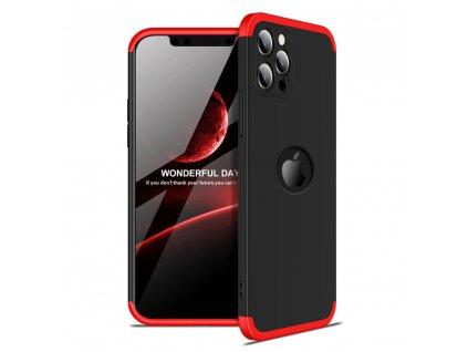Pouzdro GKK 360 pro Apple iPhone 12 PRO černá / červená