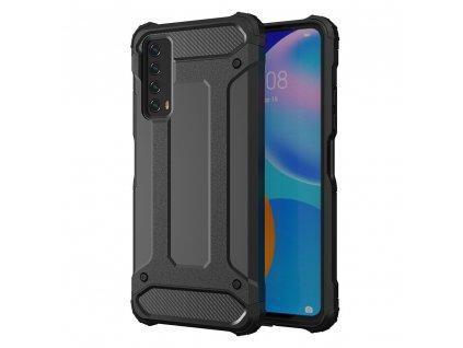 Hybrid Armor Case odolné pouzdro pro Huawei P Smart 2021 černé