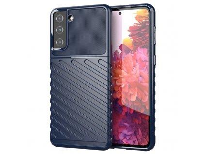 Pouzdro Thunder Case pro Samsung G991 Galaxy S21 (5G) modré