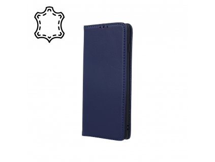 Pouzdro Smart PRO, kožené Samsung A32 4G modré