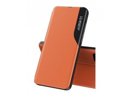 Pouzdro ECO Leather View pro Samsung G996 Galaxy S21 Plus (5G) oranžové