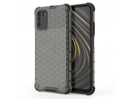 HoneyComb Armor Case odolné pouzdro pro Xiaomi RedMi 9T / POCO M3 černé