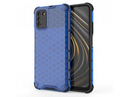 HoneyComb Armor Case odolné pouzdro pro Xiaomi RedMi 9T / POCO M3 modré
