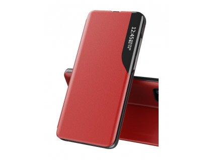 Pouzdro ECO Leather View pro Xiaomi RedMi NOTE 9T 5G červené