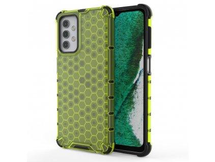 HoneyComb Armor Case odolné pouzdro pro Samsung Galaxy A32 4G zelené