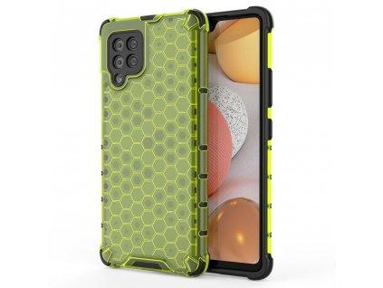 HoneyComb Armor Case odolné pouzdro pro Samsung Galaxy A42 5G zelené