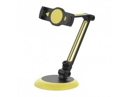 Remax RL-CH10 stolní držák na tablet / mobilní telefon černá / žlutá