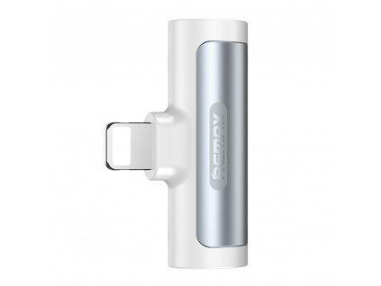REMAX LT RL-LA04i adaptér Apple Lightning / 2x Apple Lightning / rozdvojení - stříbrná