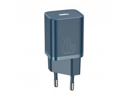 Baseus nabíječka CCSUP-B03 USB-C PD / 20W blue