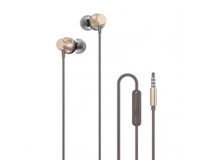 Dudao X2xs handsfree sluchátka iOS / Android - univerzální 3,5mm jack zlaté