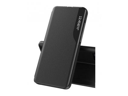 Pouzdro ECO Leather View pro Samsung G990 Galaxy S21 FE (5G) černé